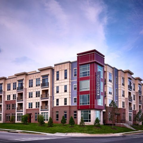 Evolution at Laurel Maryland Apartments | Building view